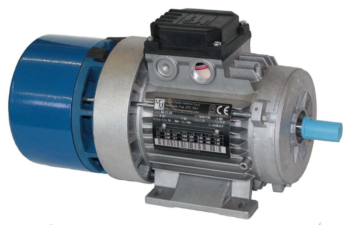 MGM-Bremsmotor B3
